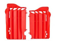 New Polisport CR 125 250 05-07 Radiator Louvres Plastics Red Motocross